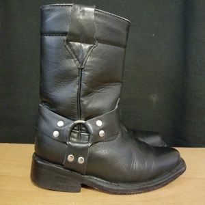 Other - Vaqueros leather boy boots size 7c